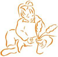 Meisje met hyacint