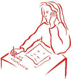 Meisje en wiskunde